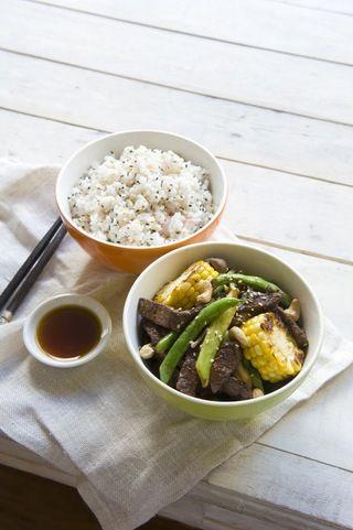 Teriyaki Beef Stir Fry: Recipe