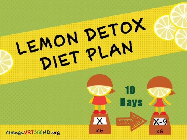 Lemon Detox Diet – Are You Ready for 10 Day Lemon Fast?