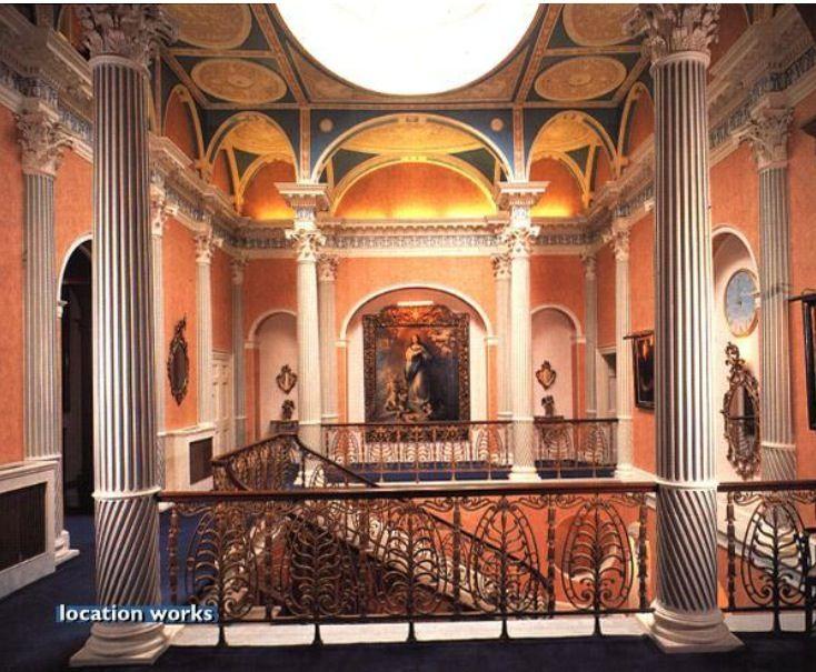 Staircase Brocket Hall Historical Interiors Pinterest