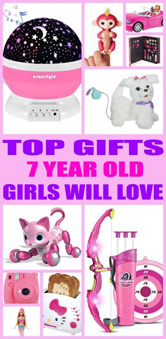 Best Gifts 7 Year Old Girls Will Love Birthday Gifts For