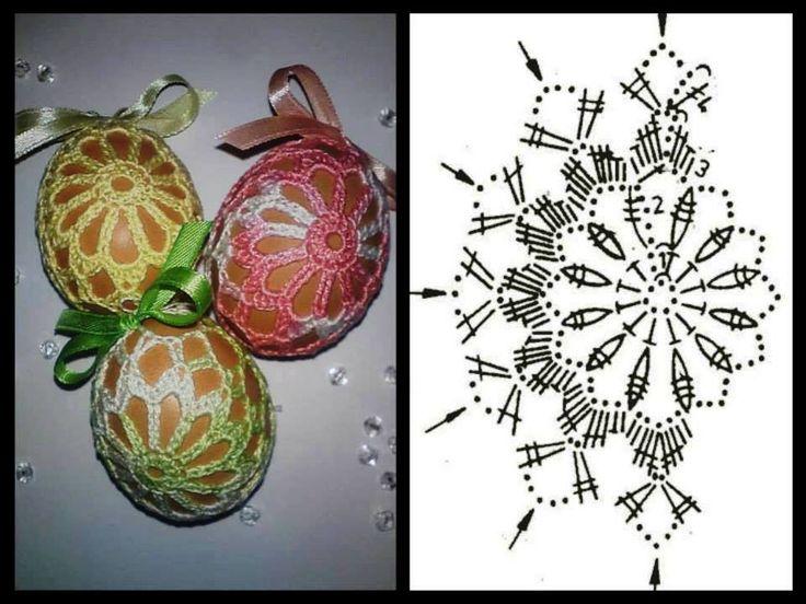 Il blog di Vera Maglia&Uncinetto: copriuova decorazione per pasqua uncinetto