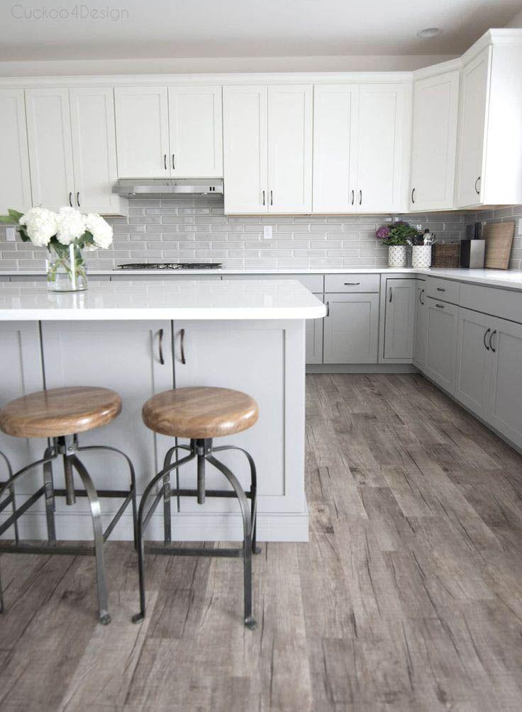 Stunning Kitchen Lighting Ideas For Your New Kitchen Light Grey Kitchens Light Grey Kitchen Cabinets White Kitchen Design