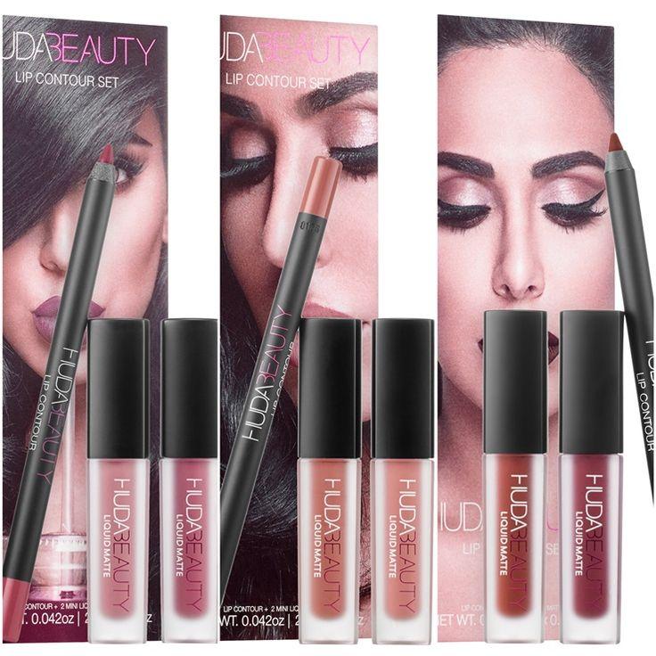 Huda Beauty Lip Contour Sets at Sephora