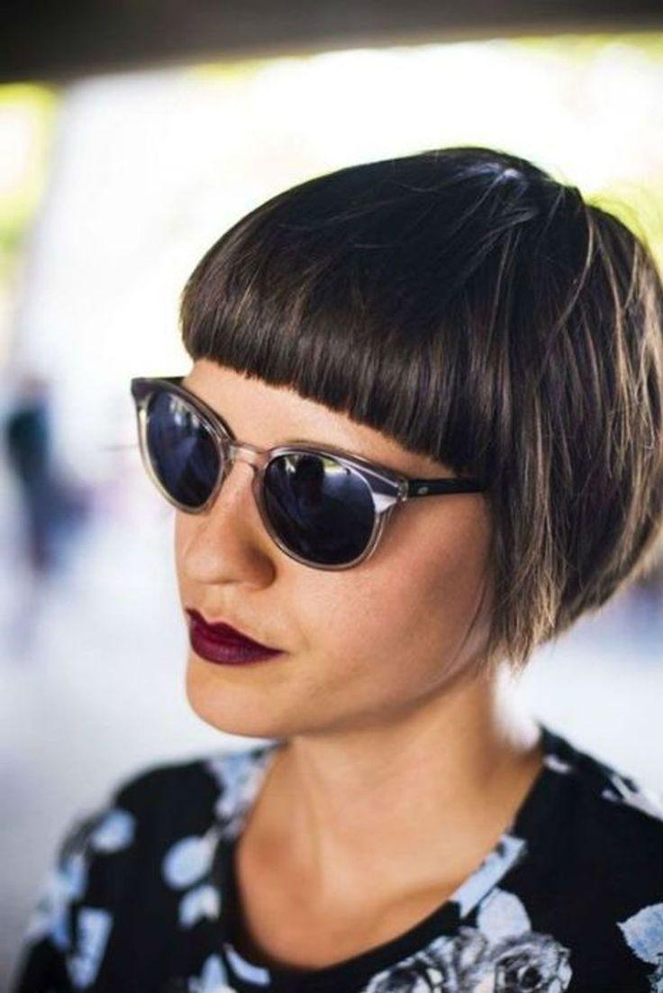 Coiffure avec frange 2018 plus de 150 coupes de cheveux