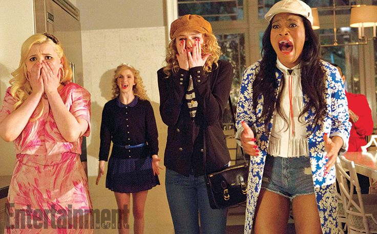 Getting into the right college can be murder. But on Fox's horror-comedy Scream Queens, which has been picked up to series for a fall debut, it's surviving college that's the real life-or-death challenge. From Glee creators Ryan Murphy, Brad Falchukand Ian Brennan, Queens is an homage to the slasher movies of the '80s.