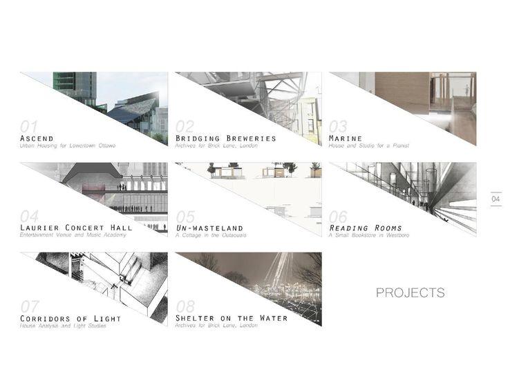 Architecture Portfolio #ClippedOnIssuu