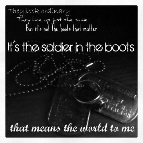 I Love My Army Boots Quotes. QuotesGram amazing women