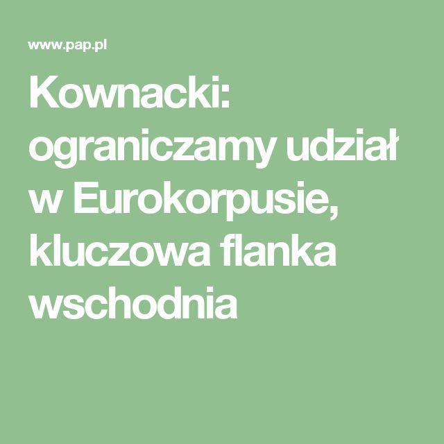 Eurokorpus działalność rozpoczął w roku 1993, początkowo jako jednostka francusko-niemiecka; obecnie jest wielonarodowym związkiem taktycznym, otwartym dla państw UE i NATO. Jego państwa ramowe - decydujące o zadaniach, strukturze i przyszłości tej formacji - to oprócz krajów założycielskich Belgia, Hiszpania i Luksemburg. Państwami stowarzyszonymi - o ograniczonych obowiązkach i prawach - są Grecja, Włochy, Turcja, Rumunia i Polska, która ubiegała się o status państwa ramowego.