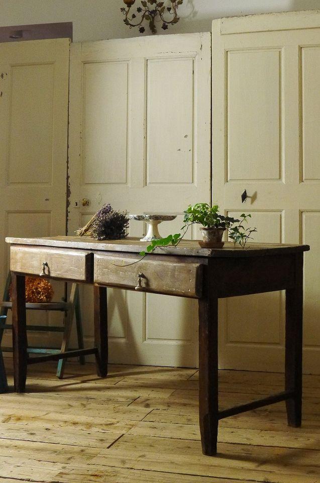 アンティーク フレンチカントリーテーブル  French Antique Table