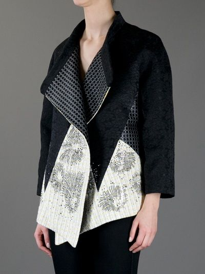 ANTONIO MARRAS oversized contrast jacket