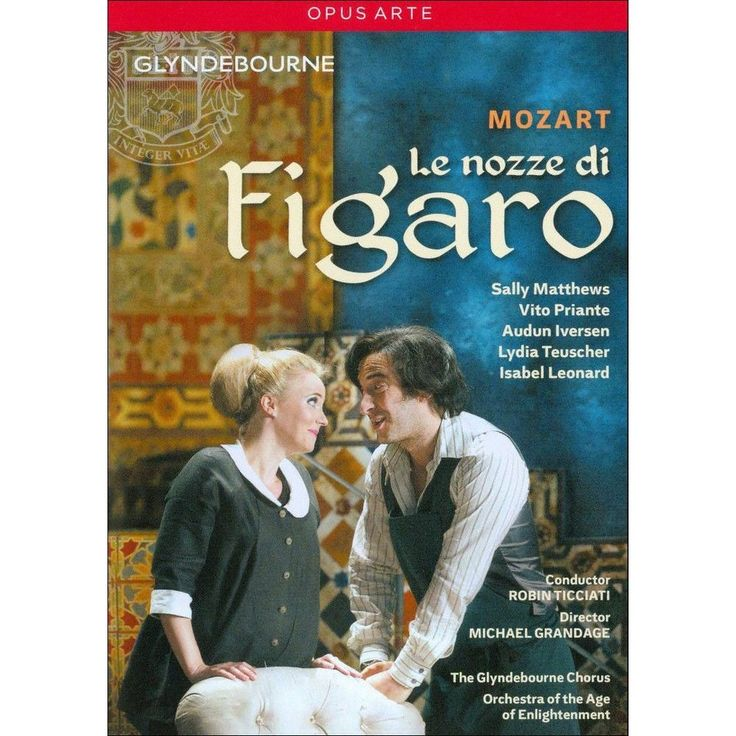 Le Nozze di Figaro (2 Discs) (dvd_video)