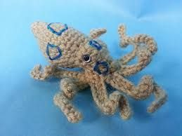 Image result for blue ring octopus cross stitch