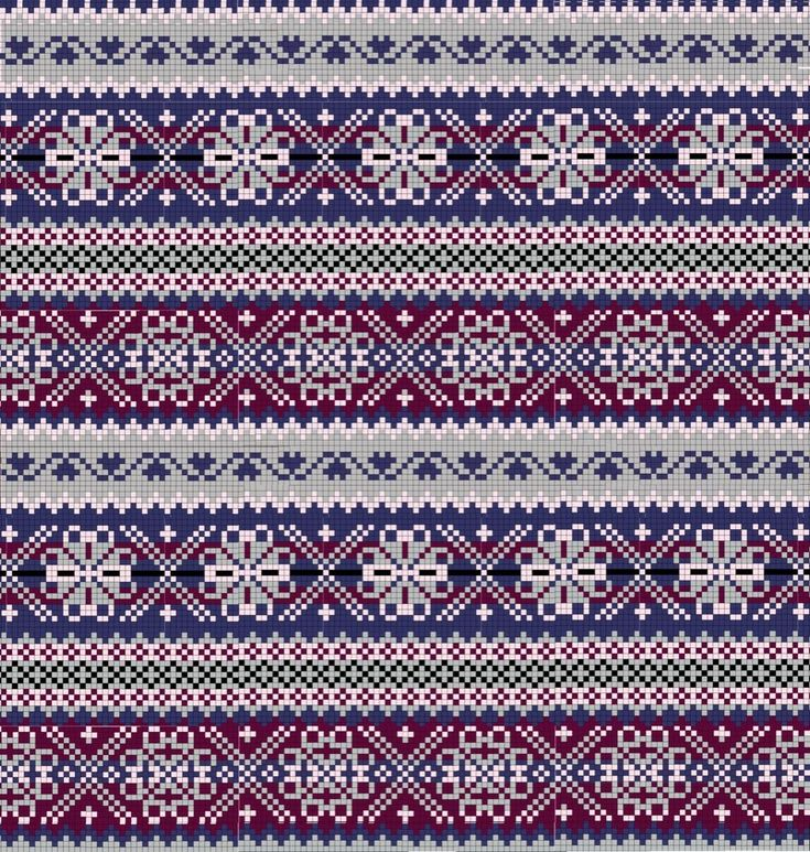 Fair Isle Knitting Pattern Images
