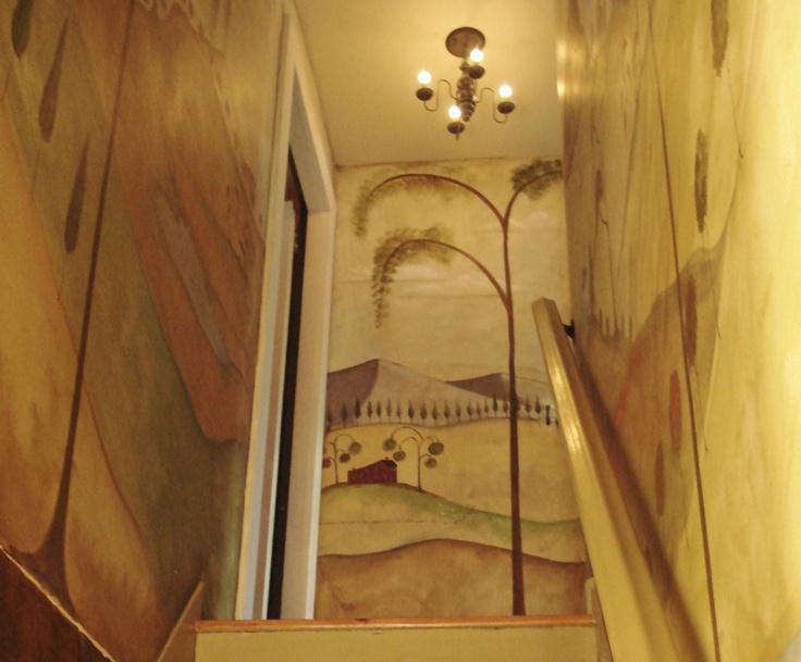Nealon/Cardillo Home Muralist Susan Dwyer