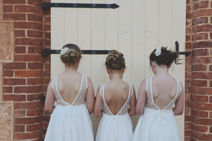 Michelle Harkness photography, flower girls