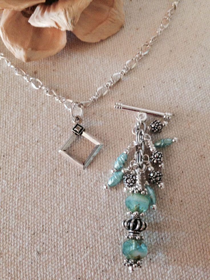 Handmade Interchangeable Beaded Pendant Bead Dangle