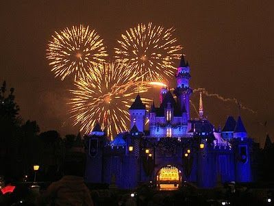 Disneyland Castle Fireworks Drawing Disneyland Fireworks Viewing