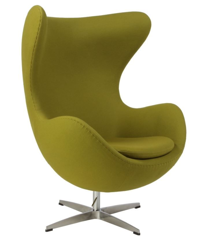 replica arne jacobsen egg chair deluxe green you deserve the best seat in the house. Black Bedroom Furniture Sets. Home Design Ideas