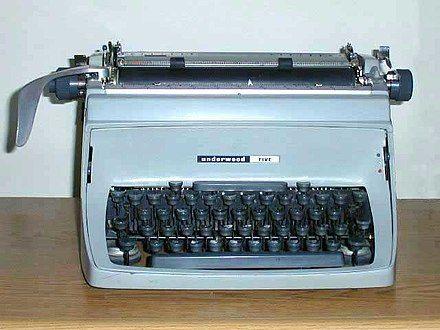 Underwoodfive - Máquina de escribir - Wikipedia, la enciclopedia libre