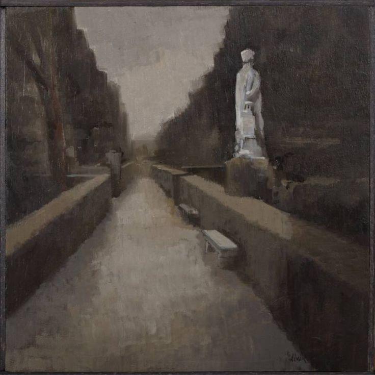 """Saatchi Art Artist Juan Manuel Álvarez Cebrián; Painting, """"Autumn I"""" #art"""