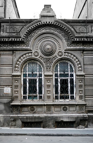 Building in Alaverdyan St. Yerevan, Armenia