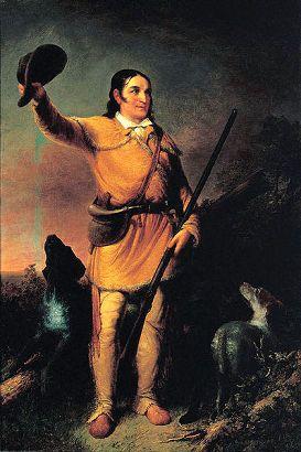 Davy Crockett, By John Gadsby Chapman