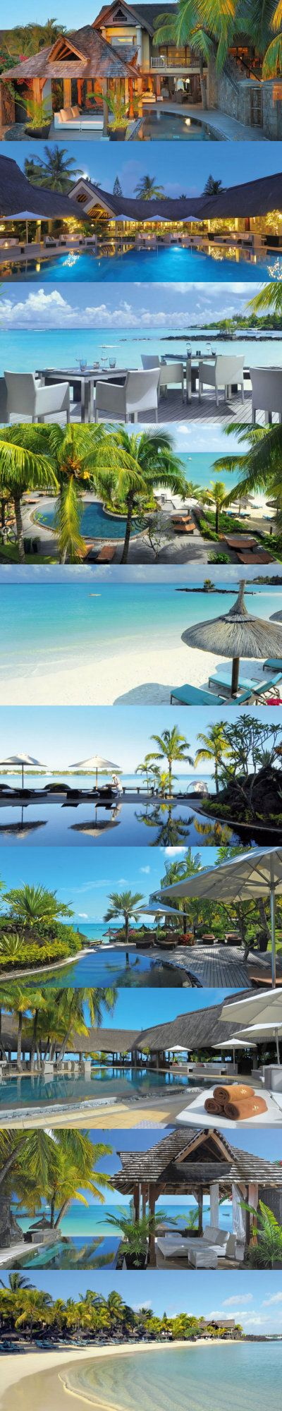 Mauritius is a very popular summer destination. Here in Mauritius you can find a lot of luxury hotels and breathtaking beaches.