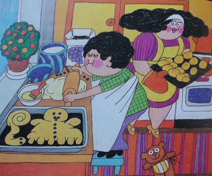 Camilla Mickwitz, children's book illustration