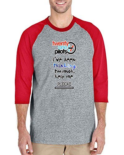 twenty one pilots i have been thinking 3/4 Sleeve Basebal... https://www.amazon.com/dp/B01HREGPW8/ref=cm_sw_r_pi_dp_VmzJxbNAY4Y89