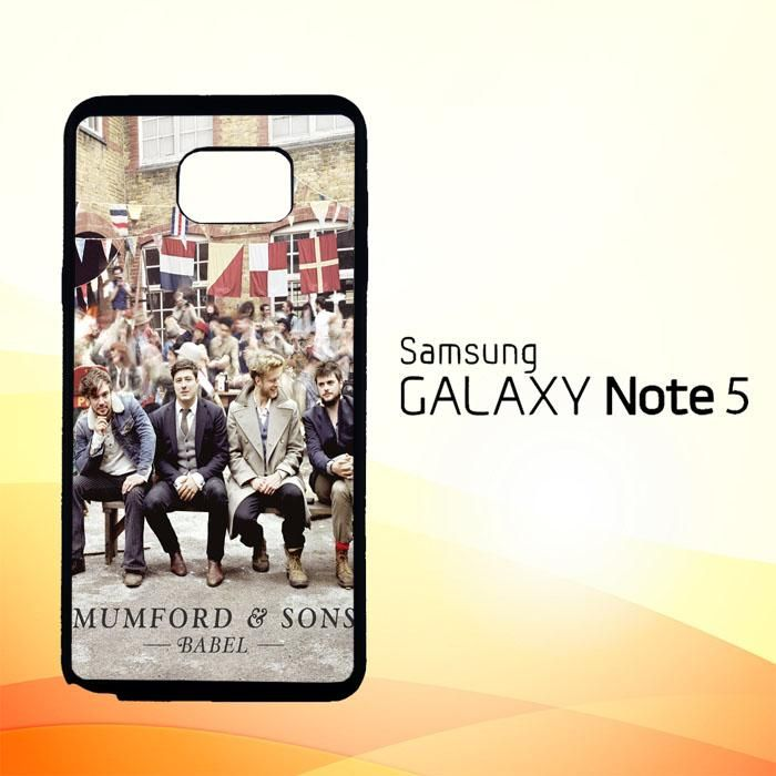 Mumford And Sons X0334 Samsung Galaxy Note 5 Case