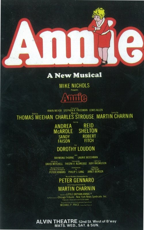 Annie.  hehe i even got to meet the dog in the broadway show :)