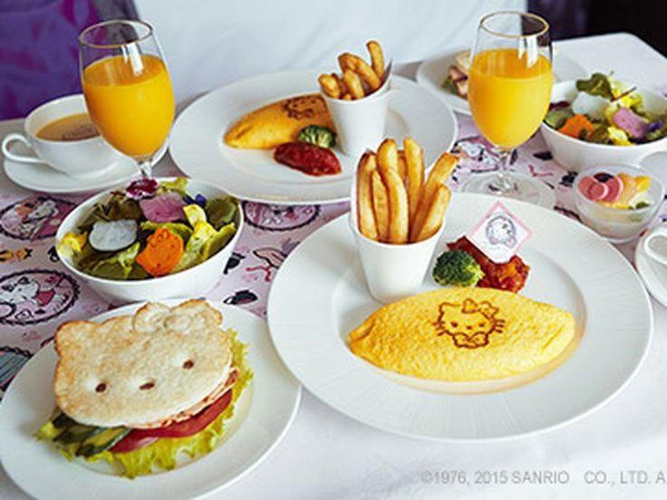 Hello Kitty theme foods Japan