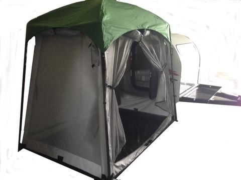 5x7 Mini Side Mount Screen Room Tent – TeardropShop.com
