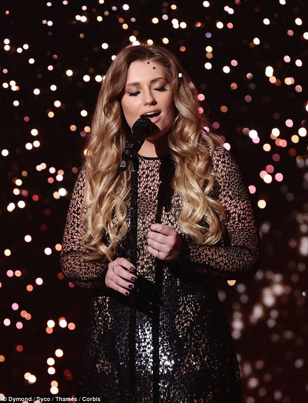 She's back! Ella Henderson performed her new single, Yours on Sunday night's episode of X Factor