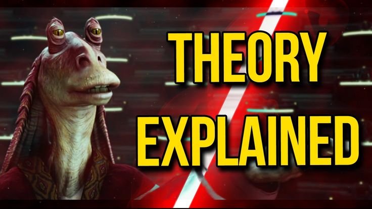 OMG! Jar Jar Binks is THE Sith Lord!