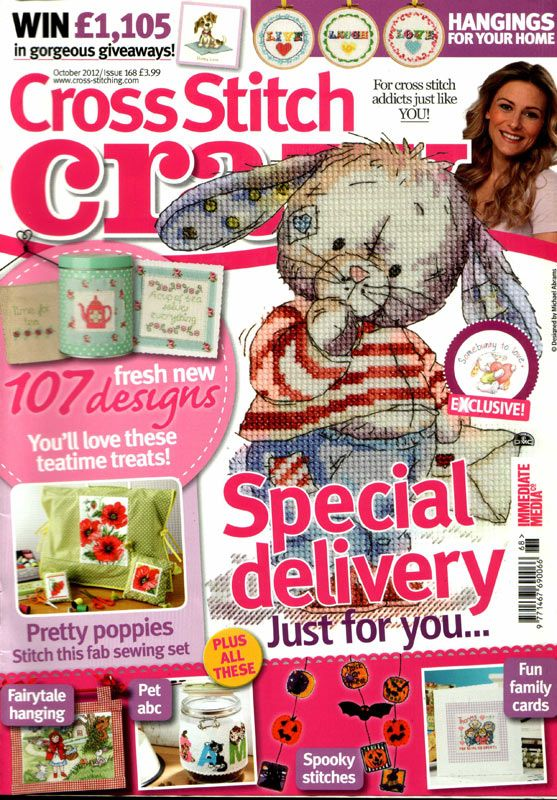 Cross Stitch Crazy Issue 168 patterns pinned