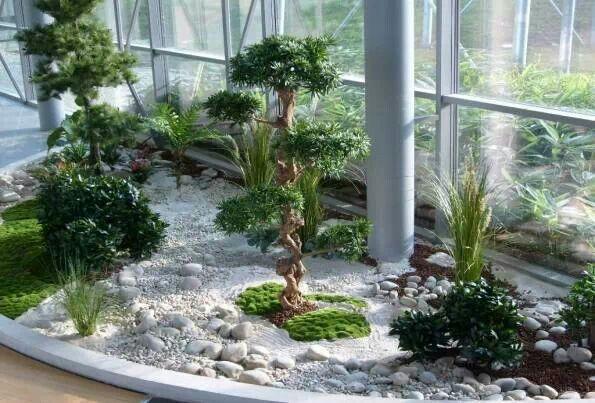 Jardin zen.