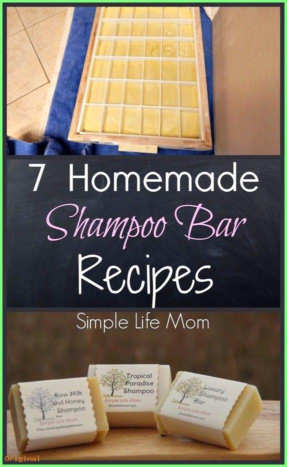 50+ Hautpflege – 7 hausgemachte Shampoo-Riegel-Rezepte – kalte Seife von Simple Life Mom  #be…