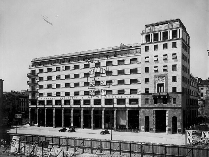 Il Palazzo dell'Istituto nazionale delle Assicurazioni - Piero Portaluppi - itineraries - Ordine degli architetti, P.P.C della provincia di ...
