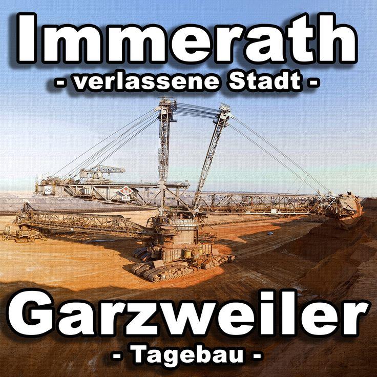 Immerath: Verlassene Stadt in NRW und der Tagebau Garzweiler