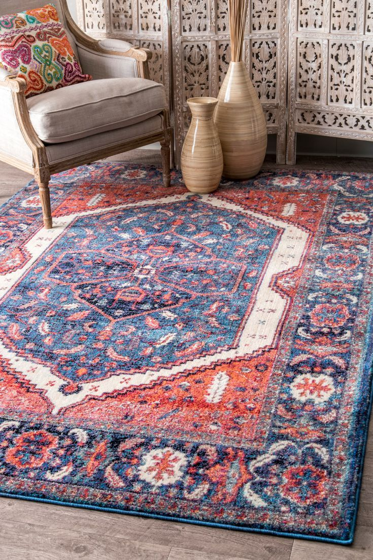 The 8 Best Affordable Rugs Of 2020 Floral Medallion Rug