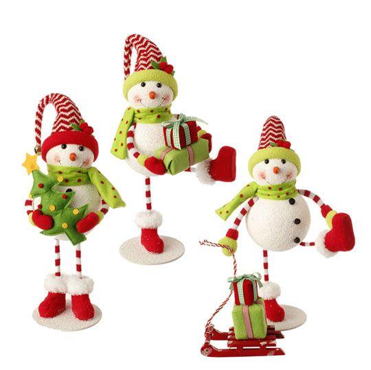 Standing Snowman $47.95 AUD http://www.mychristmas.com.au/shop-by-supplier/raz-imports/3416051