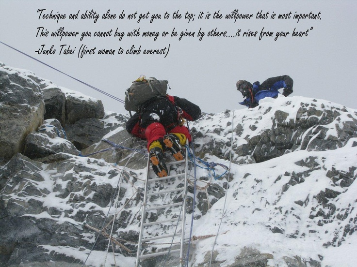 The 2nd Step on Mt. Everest 2010