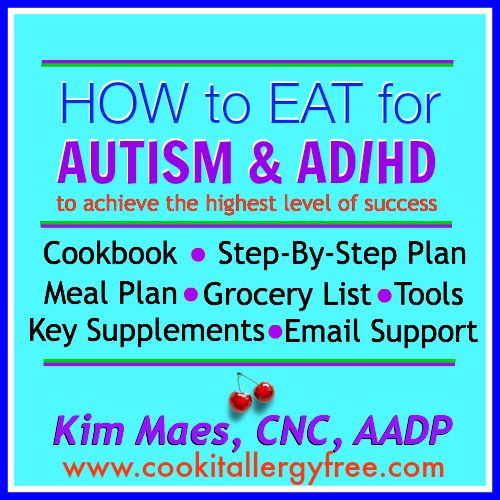 How to Eat for Autism and AD/HD ... great ways to heal and help. #Autism