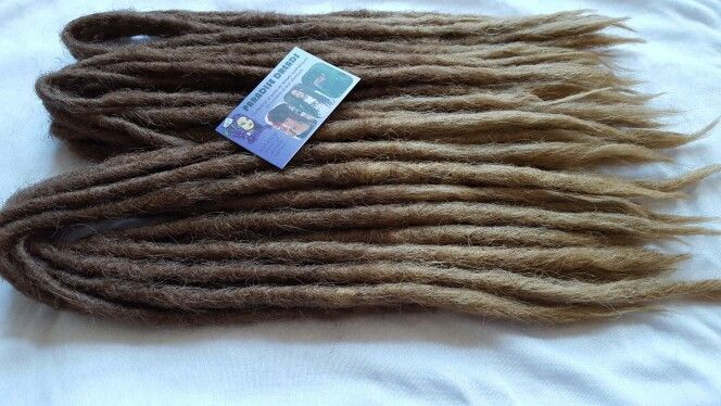 Dreads root translatives chatain blond