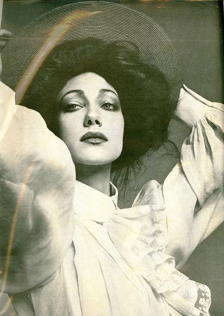 Marisa Berenson as a Gibson Girl by artemis.niarchos on Flickr.  Vogue 1976