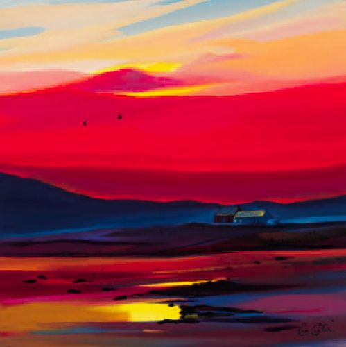 Settling for the night Art Print by Pam Carter Easyart.com