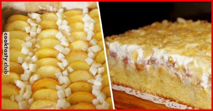 Огромное спасибо Юле Высоцкой ведь этот рецепт выпечки фруктового пирога с персиками и грушей предоставила именно она.Название оригинала звучит немного по-другому, да и некоторые ингредиенты я добавила от себя, но ни в этом суть. Все