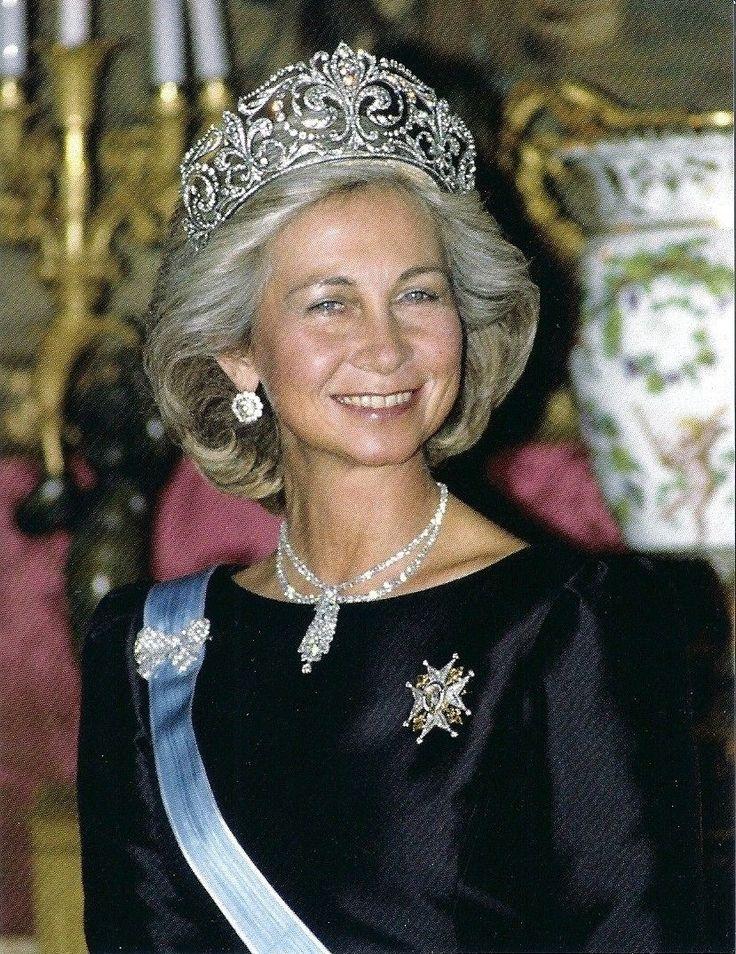 Queen Sofia Sparkles in A Huge Tiara