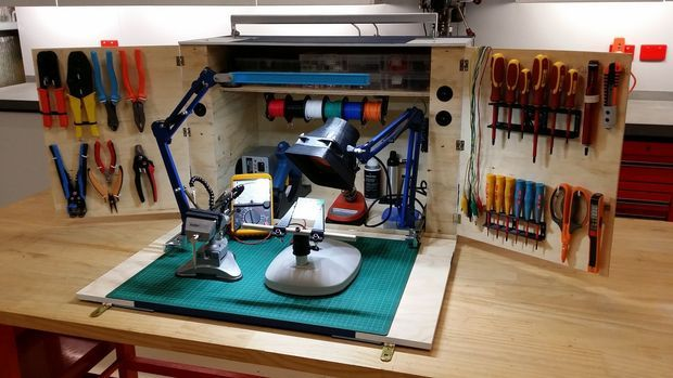 Diy Electronics Repair Workbench : Best images about portable electronics repair tools